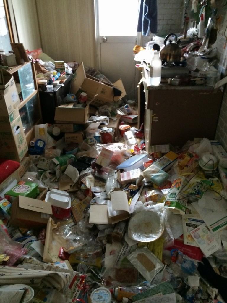ゴミ屋敷、ごみ屋敷、不用品回収、引っ越しゴミ回収、実家片付け、粗大ごみ回収