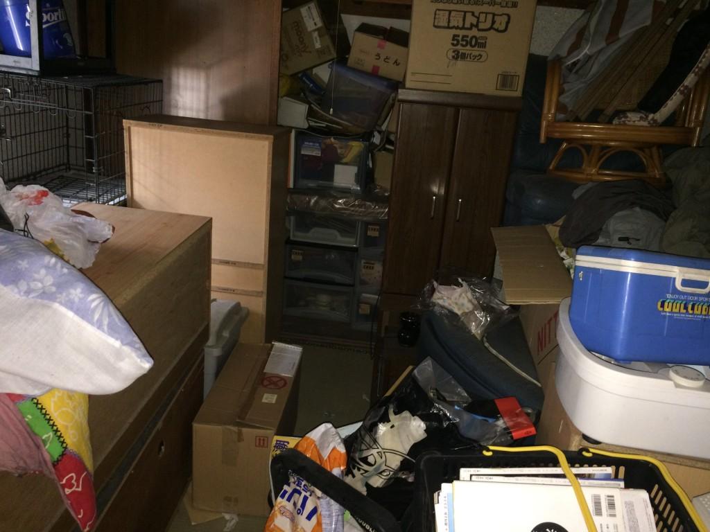 熊本部屋の片付け、不用品積み放題、引越しゴミ回収、粗大ごみ回収、ごみ屋敷、遺品整理
