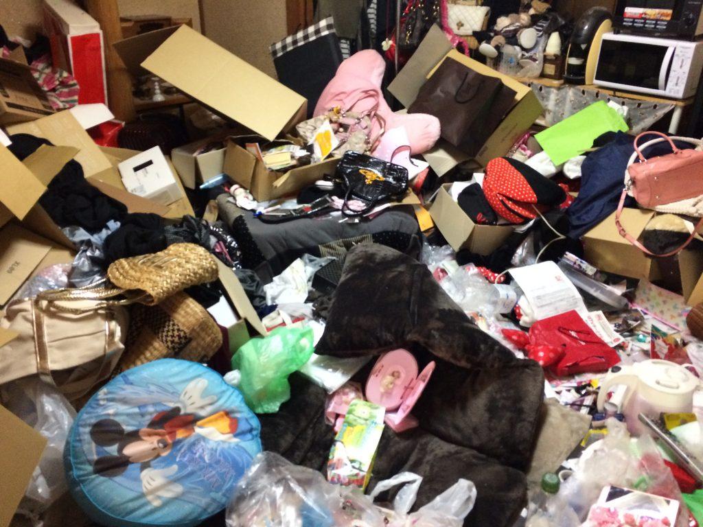 熊本市ゴミ屋敷、部屋の片付け、汚部屋片付け、引越しゴミ回収、遺品整理、粗大ごみ回収