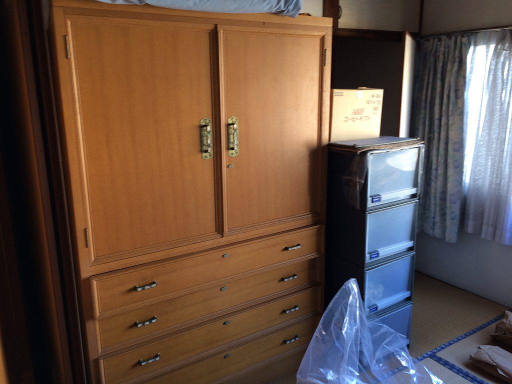 熊本引越しゴミ回収、熊本タンス回収、単身引越し、家電回収、部屋の片付け、ゴミ屋敷