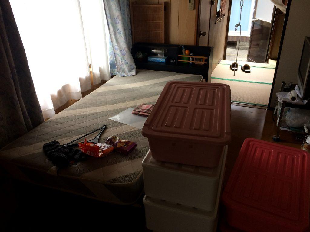 熊本ベッド回収、衣類回収、タンス回収、遺品整理、引越しゴミ回収