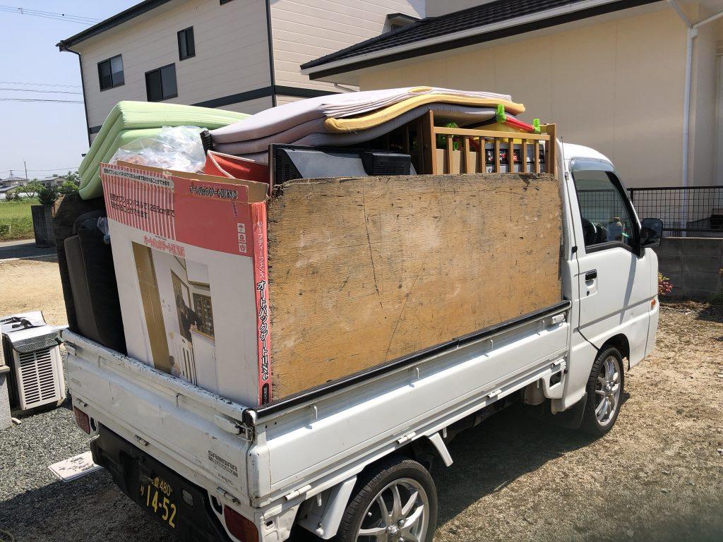 軽トラック積み放題、ゴミ屋敷、遺品整理、熊本市、八代市、仏壇回収